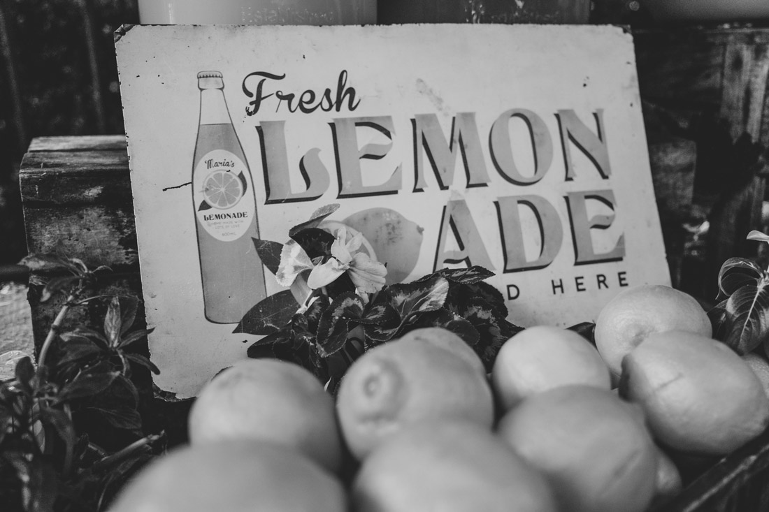 Photo of Lemons Piled Up on a Lemonade Stand